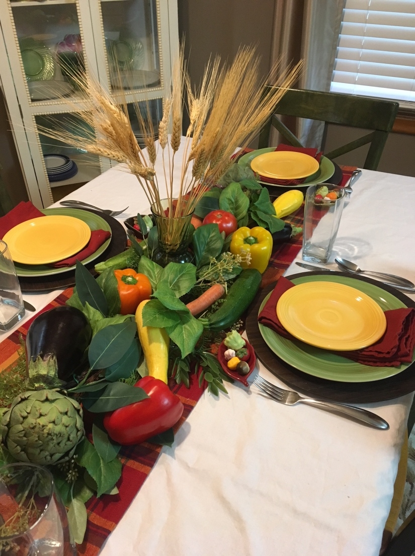Harvest Tablescape 5
