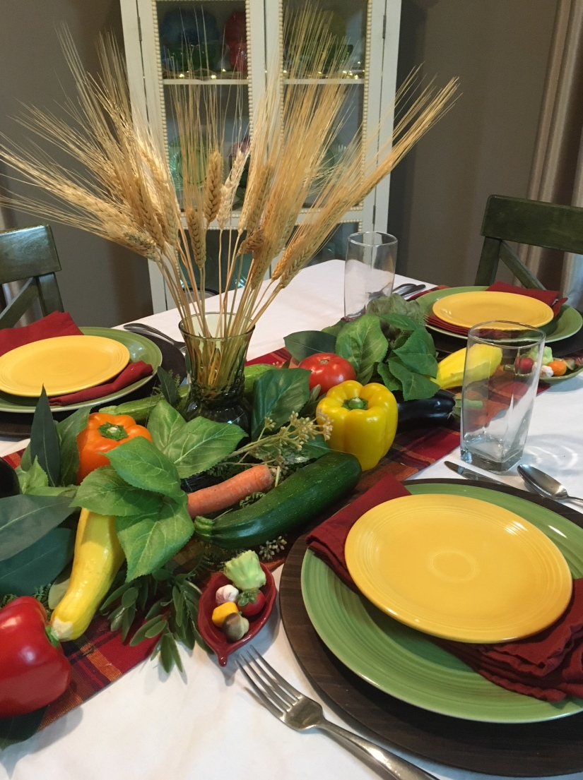 Harvest Tablescape 8