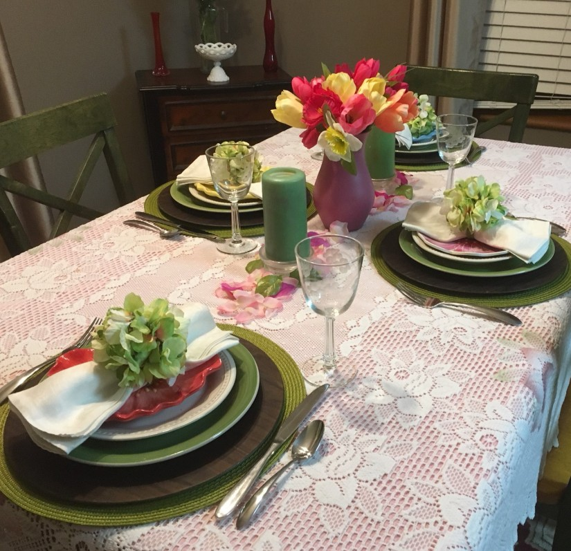 Spring Table 6
