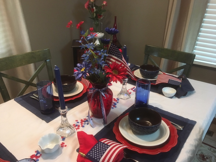 July 4th Tablescape 2